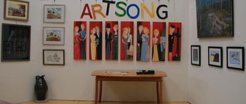 Artsong in the gallery 1