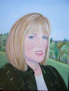 Linda Clutterbuck - self portrait